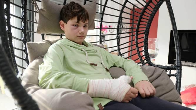 """Politie vat aanvaller van Mauro (12), mama reageert opgelucht: """"Dit mag niet ongestraft blijven"""""""
