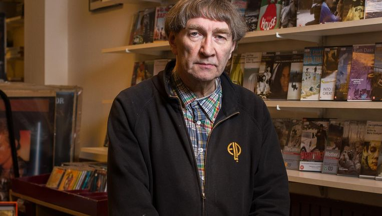 Gep Hoogeveen, eigenaar van The Silver Screen: 'Ik dacht: hoe lang moet ik hier nog mee doorgaan, voordat ik mezelf in de schulden steek?' Beeld Mats van Soolingen