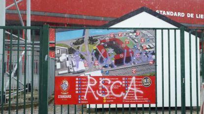 Nu ook stadion van Standard beklad met Anderlecht-slogans, Fan Board twijfelt aan echtheid