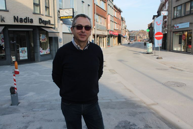 Hugo Steenput, mede-zaakvoerder van Optiek Depril.