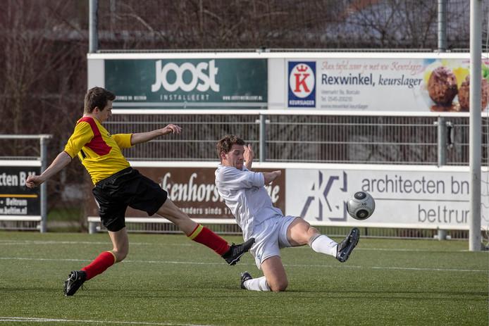 De onderlinge ontmoetingen tussen VIOS en FC Trias eindigden dit seizoen allebei in een 1-1 gelijkspel.