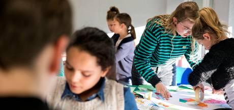 Helmondse kinderen aan de gang met kunst in tijdelijk atelier
