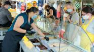 Markt vindt opnieuw op drie verschillende pleinen plaats
