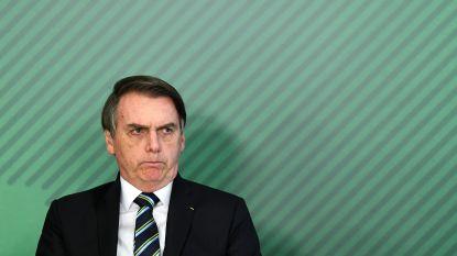 """Bolsonaro: """"Berichten over groeiende bosbranden Amazone leugens"""""""