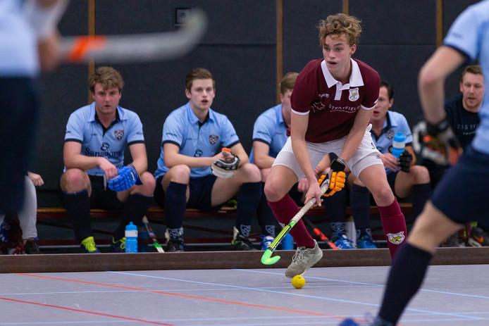 Floris Middendorp was in de winter met Hattem op weg naar de hoofdklasse. Die promotie komt er nu alsnog, omdat het format van de competitie is aangepast.
