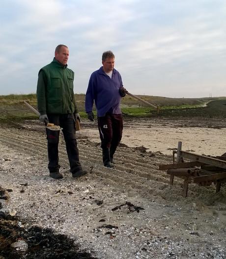 Ouwerkerkers pakken eigen strand aan