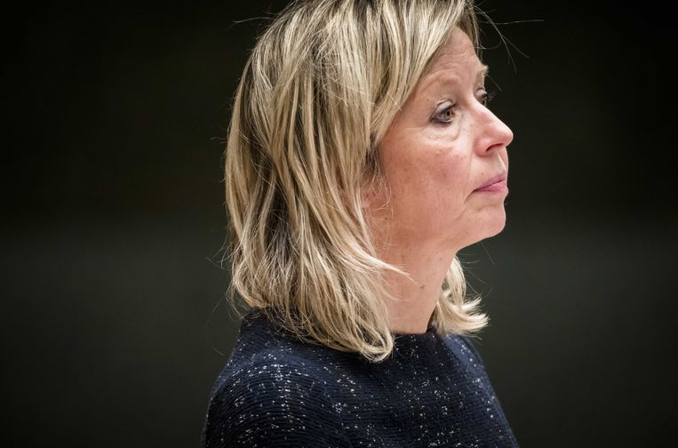 Minister Kajsa Ollongren, de toekomstige premier? Beeld anp