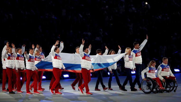 De paralympische Winterspelen van 2014 in Sochi. Beeld Reuters
