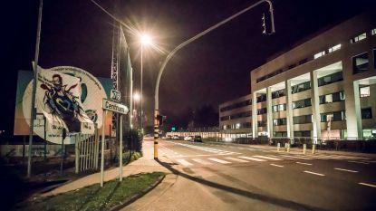 """Harde kern STVV plaatst tifo voor Sint-Trudo Ziekenhuis: """"Our Heroes wear masks, not capes"""""""