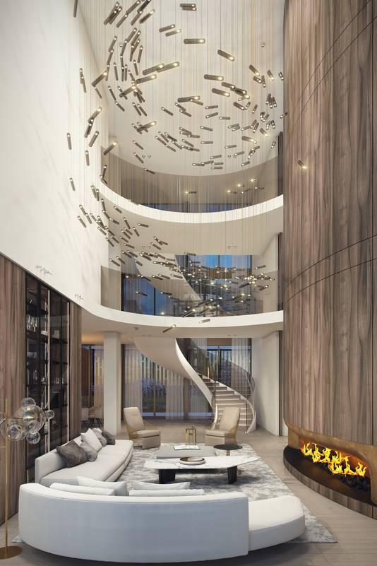 De woning is, al dan niet in samenspraak met een 'interior designer', volledig naar eigen wens in te richten.