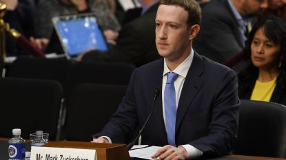 """Zuckerberg ongeschonden door hoorzitting Amerikaans Congres, dat met regulering dreigt: """"Het was mijn fout"""""""
