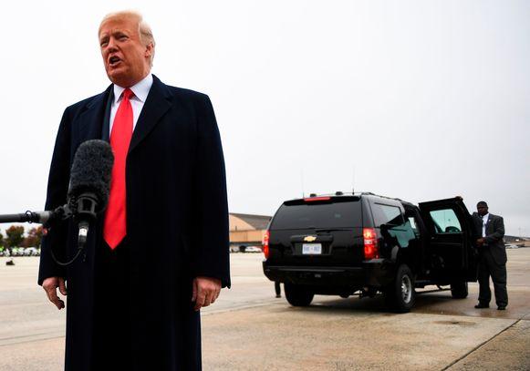 Amerikaans president Donald Trump. Hij krijgt nog meer greep op zijn partij, besluit Willem Post.