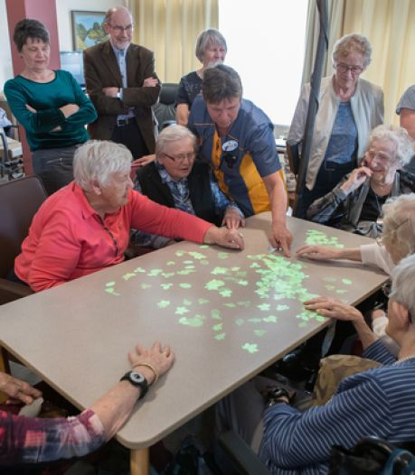 Fransen in de rij voor Nederlandse 'dementie-games'