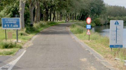 Verschillende zones van jaagpad langs Schelde krijgen nieuw wegdek