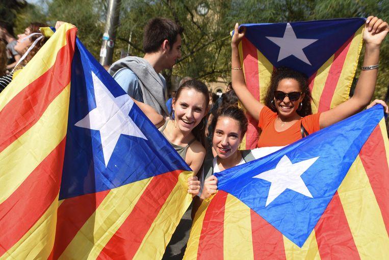 Verschillende Catalaanse partijen hebben aangekondigd de onafhankelijkheid te zullen uitroepen