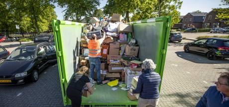 Oud papier in gemeente Hof van Twente weer huis aan huis opgehaald