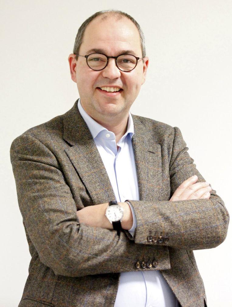 Joël Toremans, algemeen directeur van Van den Broeck, is fier na het behalen van het certificaat.