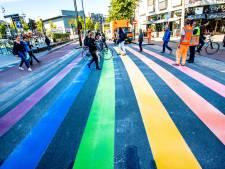 Ook Waalwijk krijgt een regenboogzebrapad: gemeente zoekt met jeugd naar prominente plek