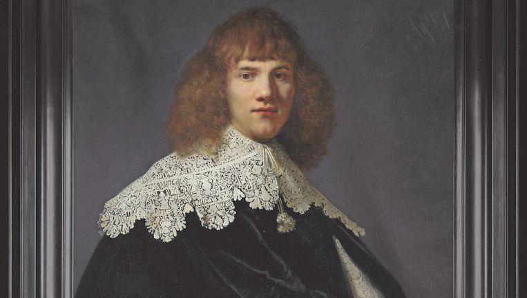 Rembrandt: Portret van een jonge man (circa 1634) Beeld René Gerritsen/Jan Six Fine Arts