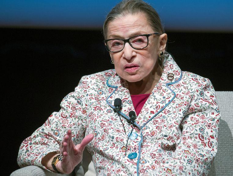 Ruth Bader Ginsburg.  Beeld EPA