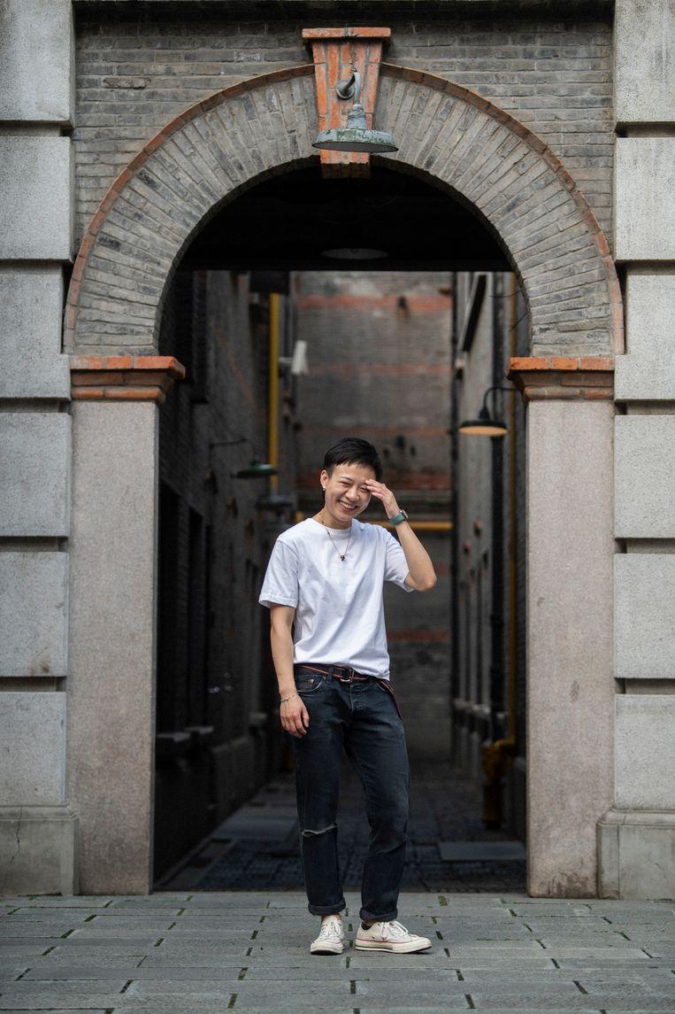 Li Butian in Shanghai: 'Amerika is geweldig, maar het is mijn thuis niet.'  Beeld Matjaz Tancic