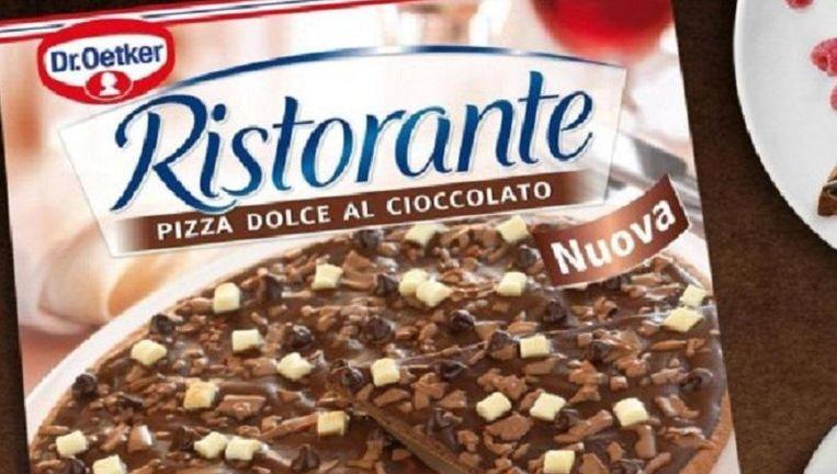 pizza met chocolade: dr. oetker combineert het beste van twee
