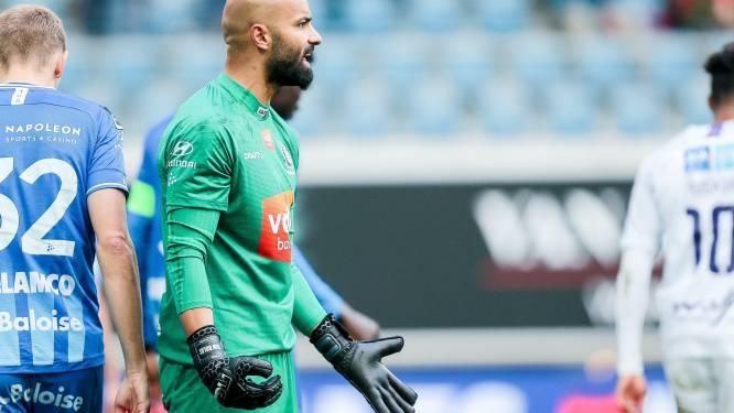 Pijnlijk: Gent-doelman Bolat blijft Europees geschorst door administratieve blunder