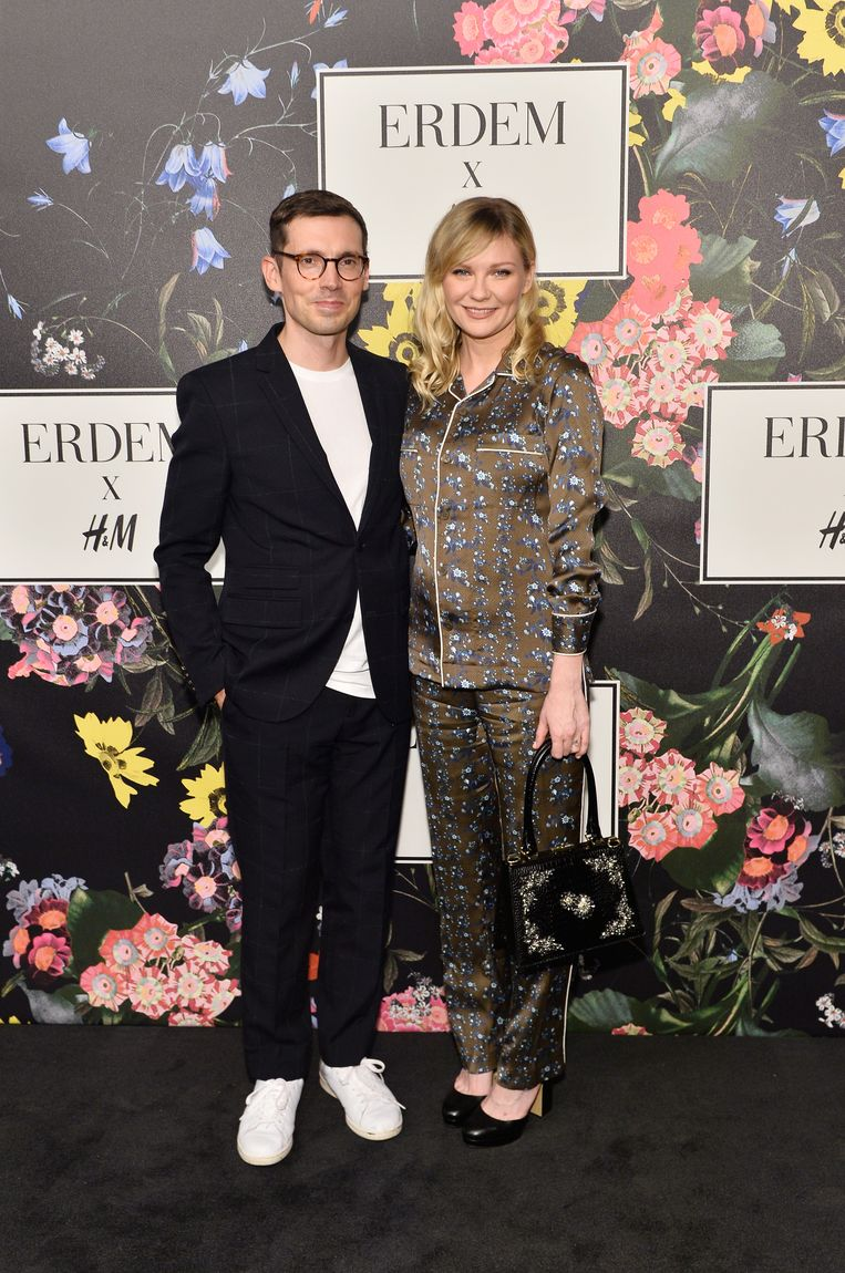 at H&M x ERDEM Runway Show & Party at The Ebell Club of Los Angeles on October 18, 2017 in Los Angeles, California.