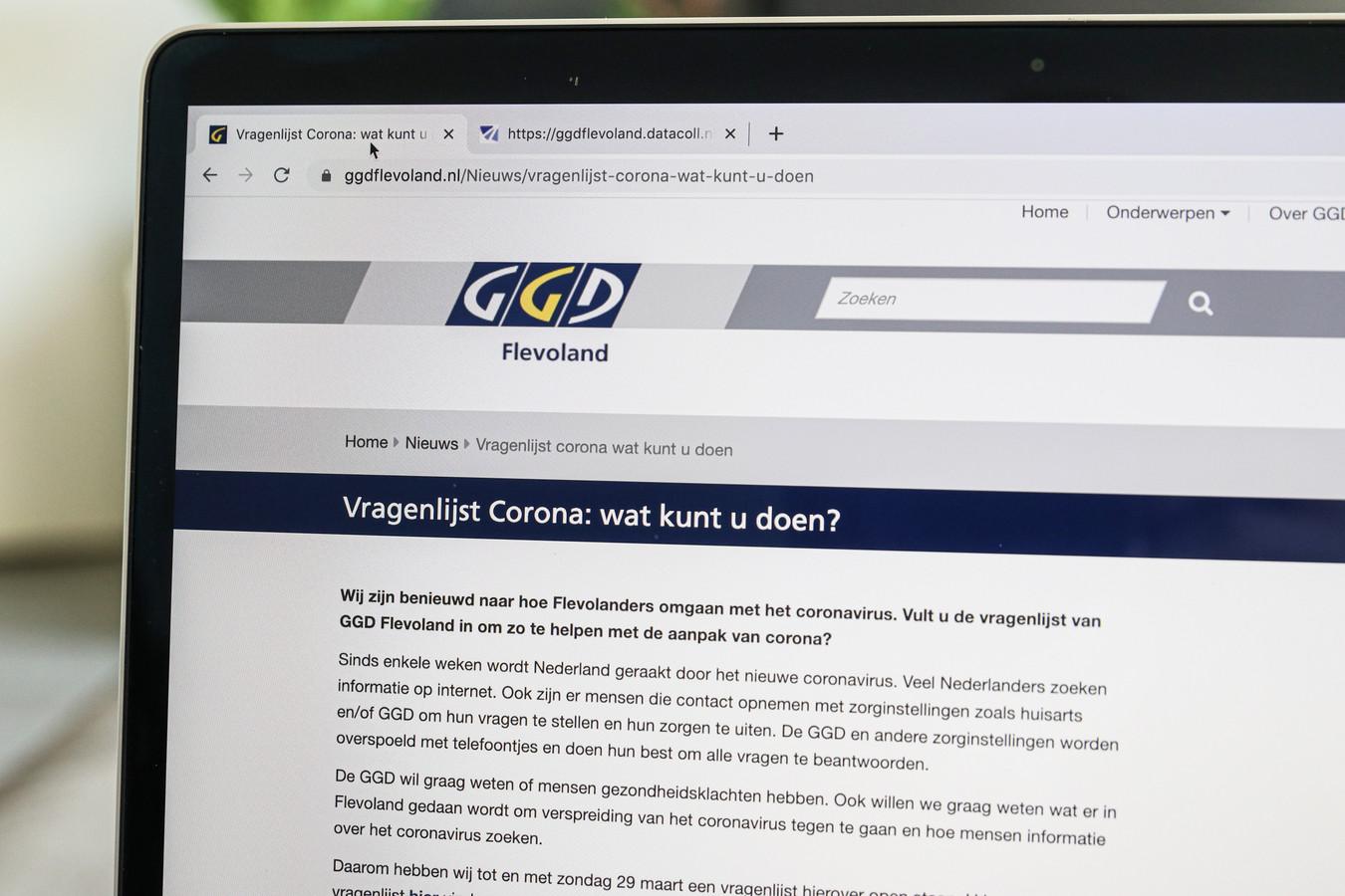 De GGD Flevoland doet opnieuw onderzoek naar de impact van de coronamaatregelen op inwoners.