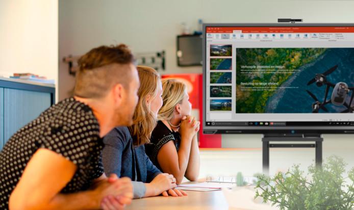 Prowise is een Budels bedrijf in digitale leeroplossingen.