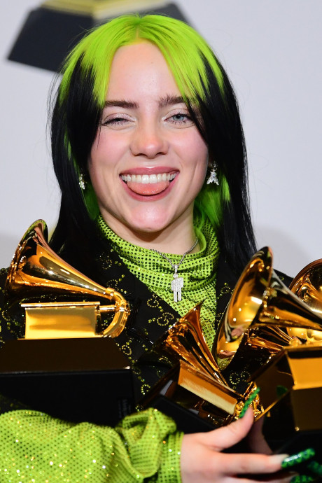 Grammy Awards in het teken van Kobe Bryant, Billie Eilish grote winnaar met vijf prijzen