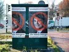 Nu ook anti-Depla posters in Breda. Wie heeft het op de burgemeester van Breda gemunt?