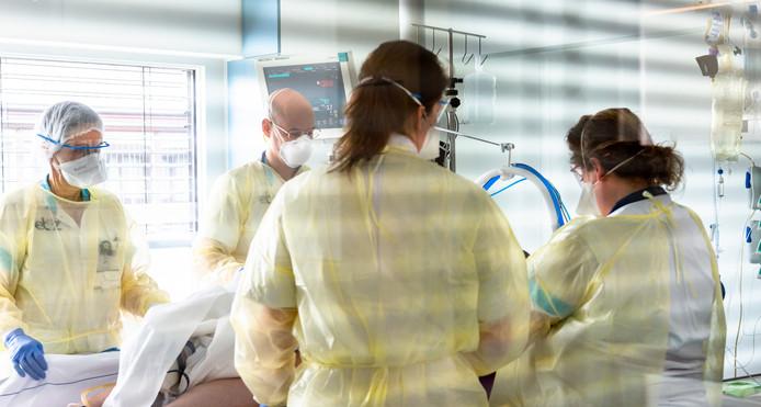 De intensive care van het Elisabeth-TweeSteden Ziekenhuis in Tilburg.
