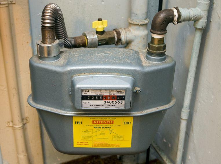 De  meter en gasbuis mogen na afsluiting van het gas prima blijven liggen, zegt de geschillencommissie energie. Beeld
