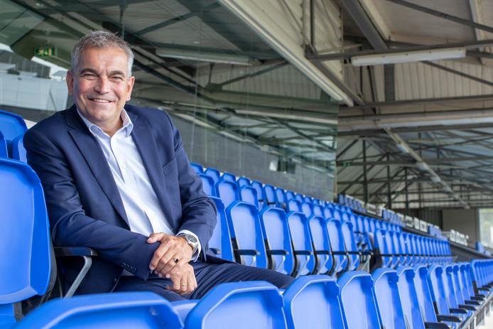 Algemeen directeur Wim van den Broek wil groeien met FC Eindhoven, zo verkondigde hij woensdagavond tijdens de Supportersavond