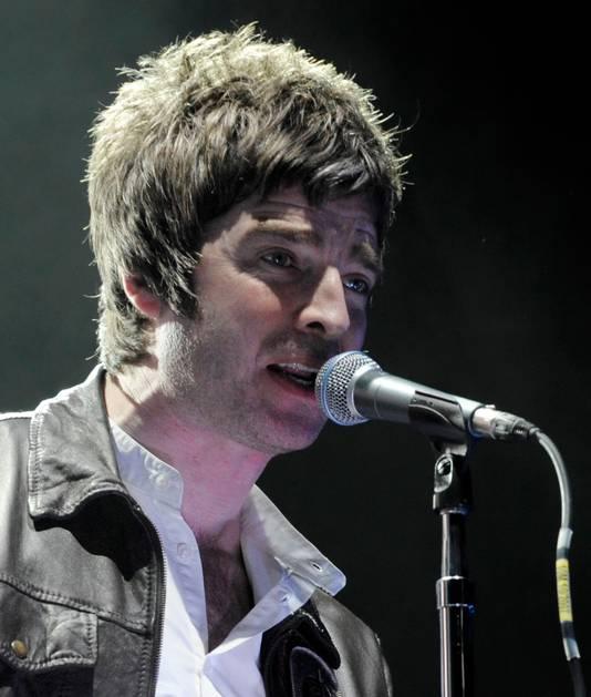 Liam Gallagher met ferme bakkebaarden.