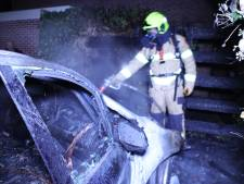 Auto uitgebrand in Hoevelaken