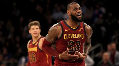 Cleveland wint na spectaculaire comeback, ook Golden State pakt volle buit
