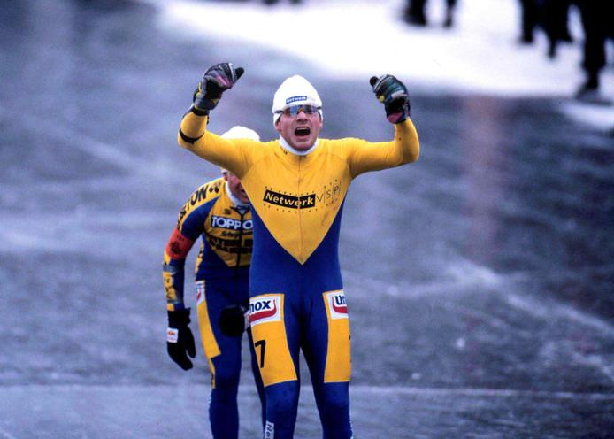 Henk Angenent, in 1997 de laatste winnaar op de Bonkevaart voor Erik Hulzebosch.