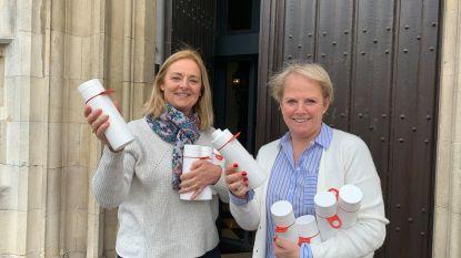 Cadeautje voor het stadspersoneel: iedereen krijgt een herbruikbare drinkfles