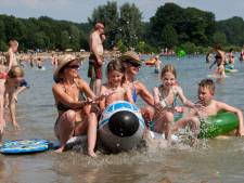 Blauwalg in recreatieplas Bussloo