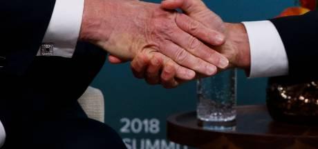 Macron broie la main de Trump: un symbole des tensions actuelles?