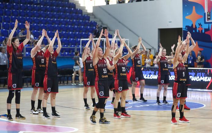 Entrée en matière réussie pour les Belgian Cats à l'Euro de basket féminin. La Belgique s'est imposée 67-54 face à la Russie.