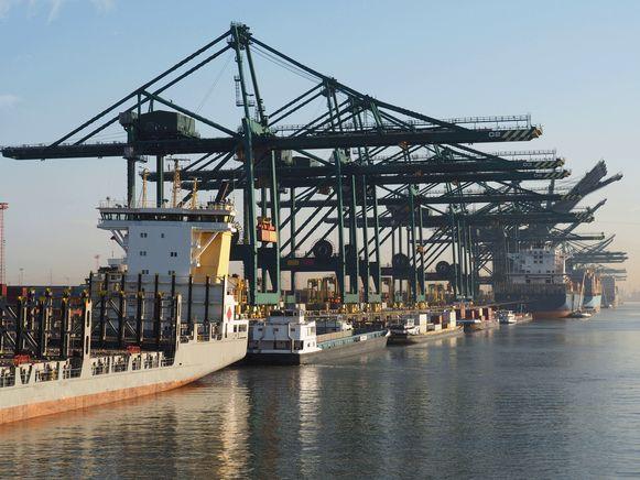 Haven van Antwerpen, ter illustratie.