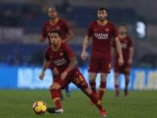Kluivert belangrijk voor AS Roma met eerste competitiegoal en assist