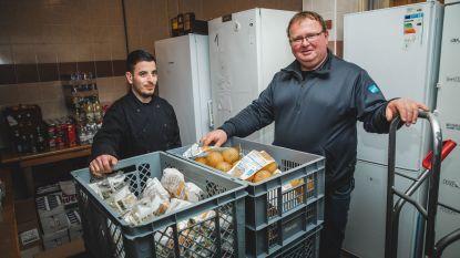 1.000 ton voedsel van de vuilnisbak gered