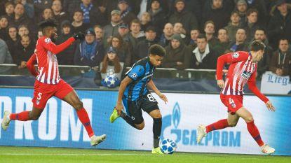 LIVE. Atlético Madrid tot twee keer toe dicht bij de openingstreffer. Vooral Saul zaait gevaar in de Brugse gelederen