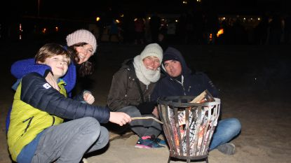 Gezelligheid troef tijdens kerstboomverbranding