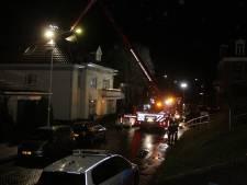 Brandweer Ubbergen blust schoorsteenbrand in Beek