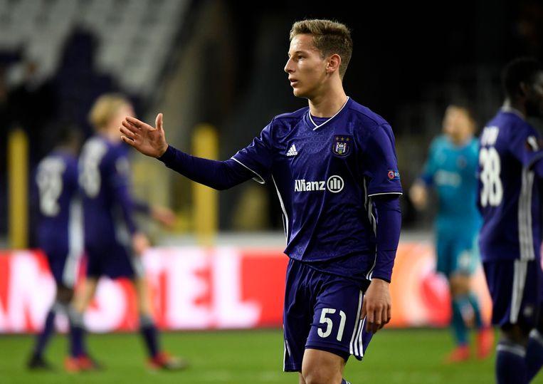 Yari Verschaeren, een Belgisch talent van Anderlecht.